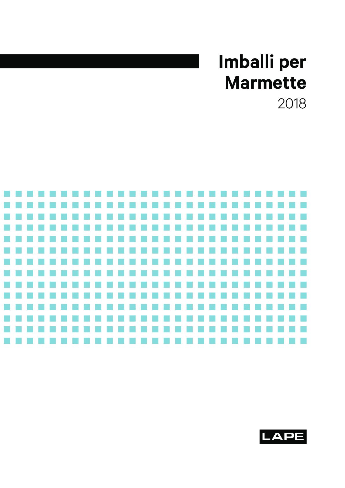 Packaging Marmette brochure